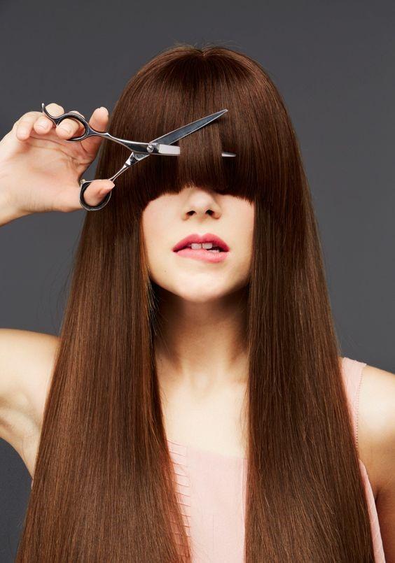 کوتاه کردن موهای اسیب دیده